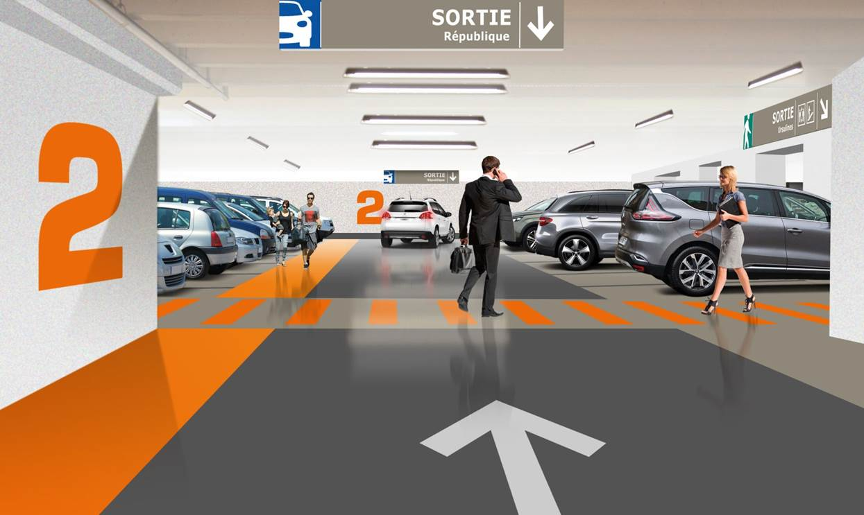Travaux parking République ( image non contractuelle)